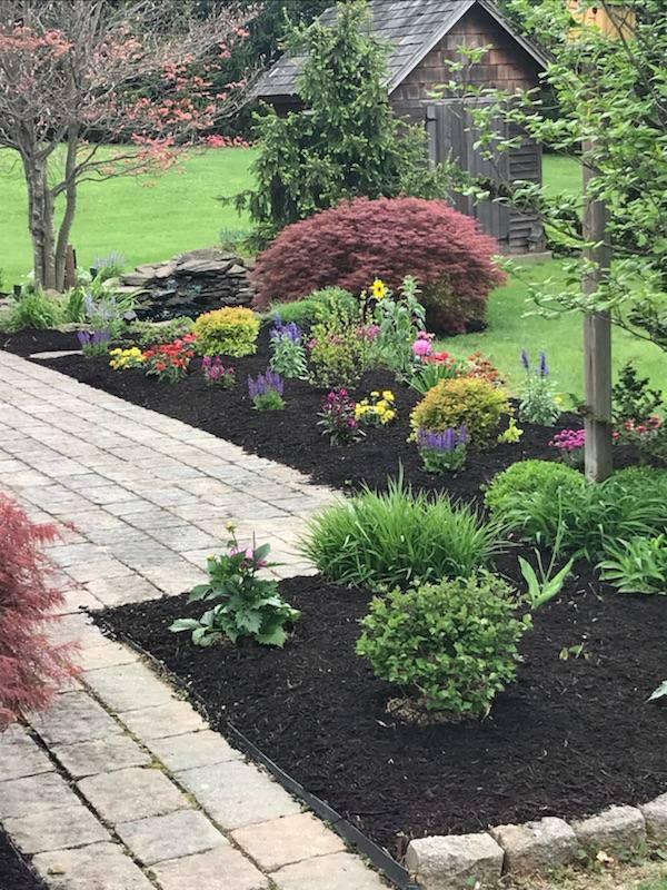 Install English Garden